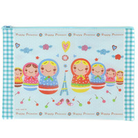 HAPPY PRINCESS RUSSIAN DOLL GIANT POUCH