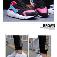 """Nike Air Huarache"" Male Female Breathable Casual Mesh Surface Couple Sneakers Shoes"