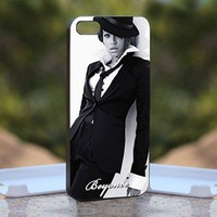 Beyonce, Print on Hard Cover iPhone 5 Black Case