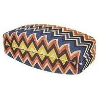 Chevron Clam Shell Sunglass Case