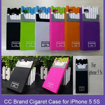 Smoking Kills Cigarette Box case Cover for iphone 5 5s C