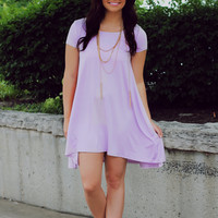 One Sunny Day Dress - Lavender