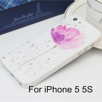 Watercolor Pastel Floral Phone Case for iPhone 5 5s