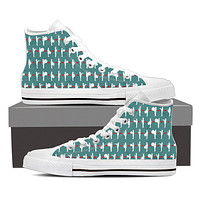 Marching Band Pattern Shoes