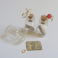 Lord of the Rings The Hobbit Inspired Bottle Necklace by NeatEats