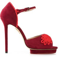 Charlotte Olympia 'Eternity' rope detailed sandals