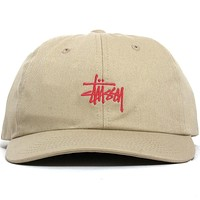 SP20 Stock Low Pro Cap Khaki