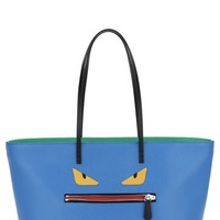 Fendi 'Monster' Leather Tote