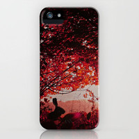 Down the rabbit hole iPhone Case by M✿nika  Strigel | Society6