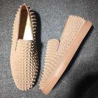 DCCK2 Cl Christian Louboutin Roller Boat Style #2095 Sneakers Fashion Shoes