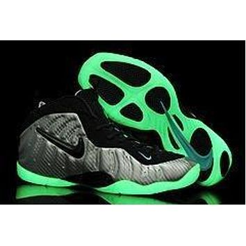 Air Foamposite Pro Luminous White/black Basketball Shoe Size 40 47