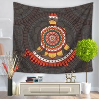 Indian Mandala Tapestry Wall Hanging Geometric Patterns Hippie Tapestry Living Room Decoration Wall Hanging Beach Towel Yoga Mat