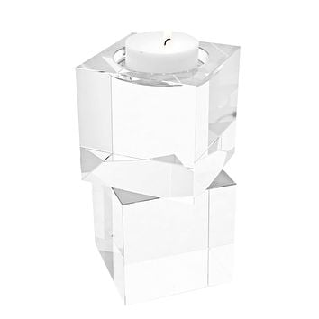 Glass Candle Holder (set of 2) | Eichholtz Wyndham
