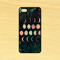 Phases of the Moon Phone Case iPhone 4 / 4s / 5 / 5s / 5c /6 / 6s /6+ Apple Samsung Galaxy S3 / S4 / S5 / S6