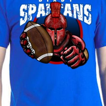 Bixby Spartans Football T-Shirt