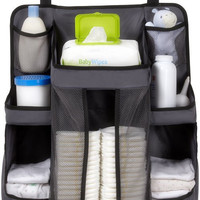 Dexbaby Diaper Caddy and Nursery Organizer for Baby's Essentials, Gray