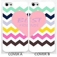 case,cover fits iPhone models>best friend>friends>chevron,mint,BFF,cute,pastel