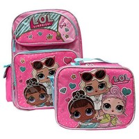 "LOL SURPRISE 16"" BACKPACK AND LOL SURPRISE MATCHING LUNCH BOX BAG-BRAND NEW AND RARE FIND!"