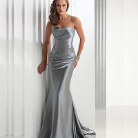 2016 New Long Formal Beaded Mermaid Sweetheart Evening Dresses Party Gowns Robe De Soiree Pluse Size