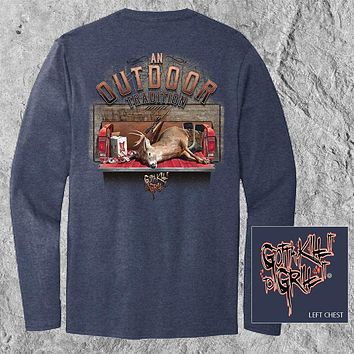 Gotta Kill It To Grill It Outdoor Tradition Unisex Long Sleeve T-Shirt