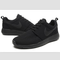"""""""NIKE"""" roshe Trending Fashion Casual Sports A Simple yet Powerful Style Nike Shoes Black"""