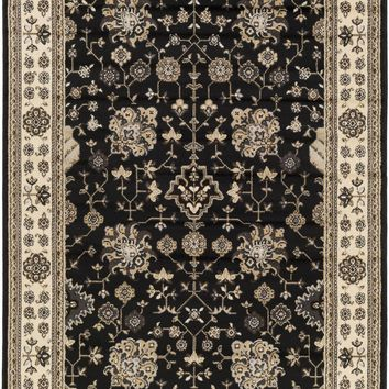 Paramount Area Rug Black, Neutral