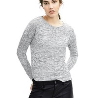Banana Republic Womens Slubbed Stripe Top