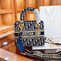 Dior personality all-match Princess Dior handbag single shoulder bag