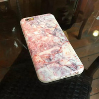 Womens Pink Marble iPhone 6 6s Plus % iPhone 7 7Plus Case +Gift Box