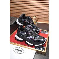 prada womens mens 2020 new fashion casual shoes sneaker sport running shoes 48