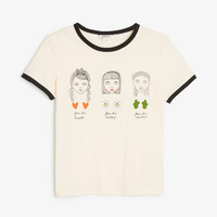 Monki | Tops | Cotton tee