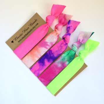 The Viola Hair Tie Ponytail Holder Collection