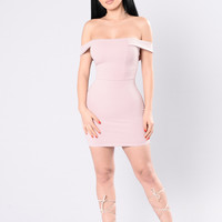 Everything Is Tipsy Dress - Mauve