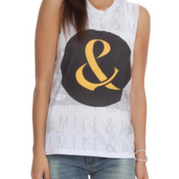 Of Mice And Men Ampersand Muscle Girls Top