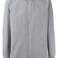 Maison Margiela Multi Check Zip Shirt - Projecteurs - Farfetch.com