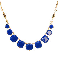 Square Bib Necklace Trendy Chunky Jewelry Chain Necklaces