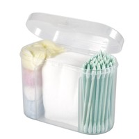 Portable Travel Soft Cotton Swab Makeup Cosmetic Remover Disposable Medical Cure Health Beauty Swabs Buds Balls 3 in 1