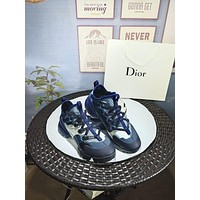 Dior Women Casual Shoes Boots fashionable casual leather Women Heels Sandal Shoes-78