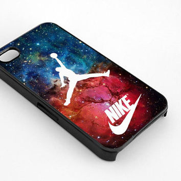 Nike Logo Nebula Air Jordan for iphone 4/4s case, iphone 5/5s/5c case, samsung s3/s4 case cover