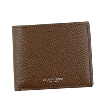 MICHAEL KORS Bifold Coin purse WALLET WITH COIN 39F5LHRF3L MOCHA 203