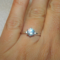 1 Carat Promise Ring, Purity Ring, Anniversary Ring