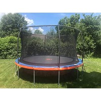12 FT Trampoline & Safety Enclosure Combo -Includes a Free Ladder & Anchor Kit
