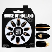 House Of Holland Nails By Elegant Touch - Ghetto Gold
