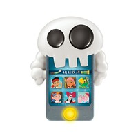 Disney Jake and the Never Land Pirates Skull Phone by Fisher-Price Y8403 (Gold)