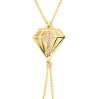 Fashion Jewelry~ Body Jewelry ~ Goldtone Diamond Shape Cross Body Chain (Style Od 0003 Glcry Mwr)