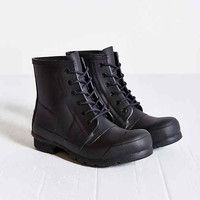 Hunter Original Lace-Up Rain Boot- Black