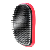 Portable Cute Hair Comb Smooth Anti Static Massage Stylish Travel Rose Red