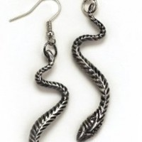 Snake Earrings (Standard)