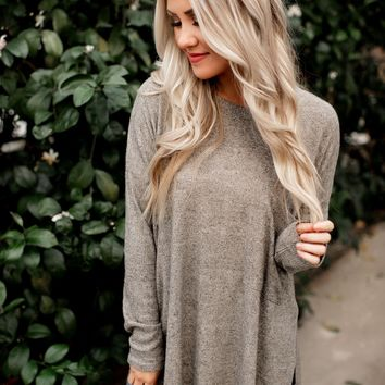 Go To Taupe Tunic