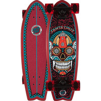 Santa Cruz Sugar Skull Shark Cruzer Board Multi One Size For Men 23589295701